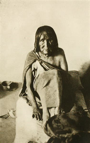 New Mexico, The Land of the Delight Makers - Melita, the day after she was rescued from Hanging as a witch (1920)