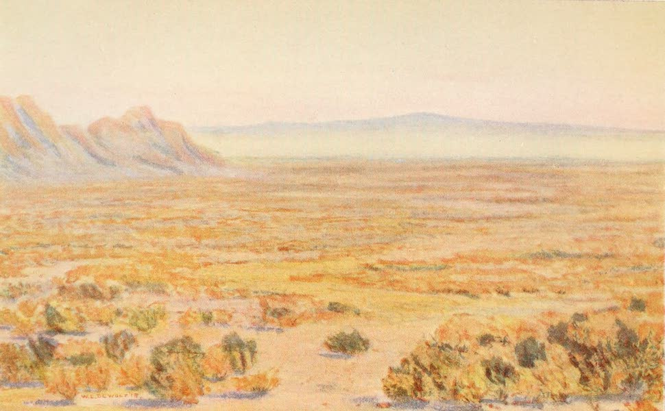 New Mexico, The Land of the Delight Makers - The New Mexico Desert Region in Winter (1920)