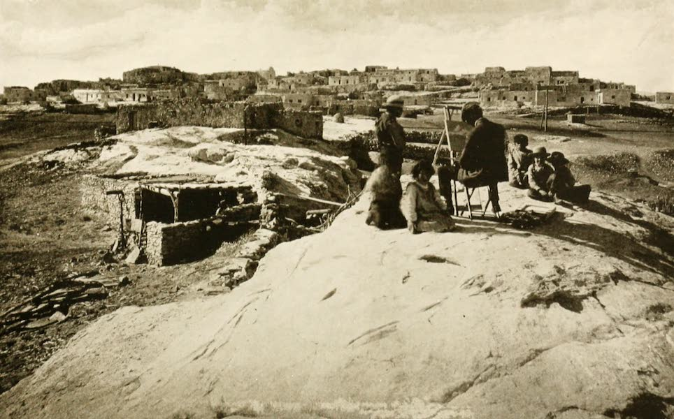 New Mexico, The Land of the Delight Makers - The Pueblo of Laguna (1920)