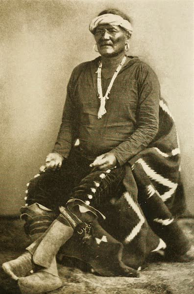 New Mexico, The Land of the Delight Makers - Manuelito, the Last Great Navaho Chief (1920)