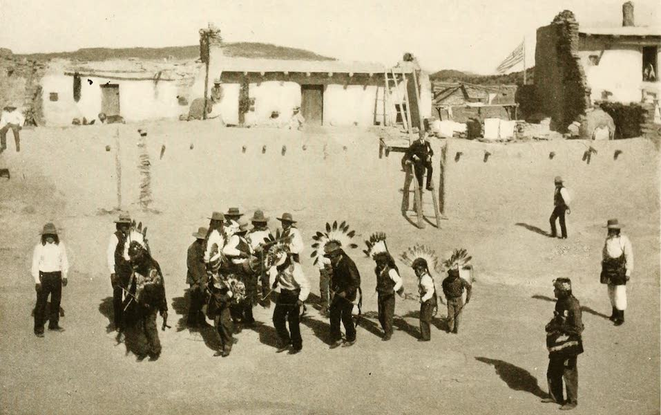 New Mexico, The Land of the Delight Makers - A Dance at Laguna (1920)