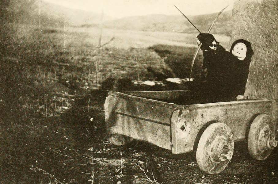 New Mexico, The Land of the Delight Makers - The Carreta delMuerto used by the Penitentes at Taos (1920)
