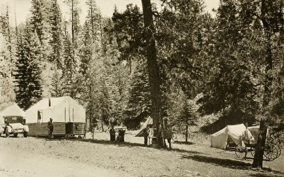 New Mexico, The Land of the Delight Makers - A Summer Camp in the Santa Fe National Forest (1920)