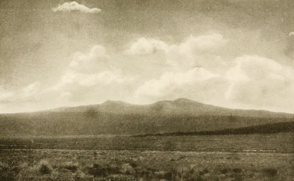 New Mexico, The Land of the Delight Makers - San Mateo Mountain - also called Mt. Taylor (1920)