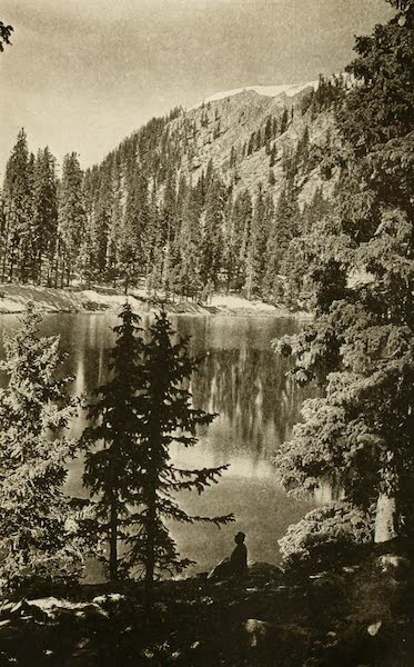 New Mexico, The Land of the Delight Makers - Santa Fe Lake, Santa Fe National Forest (1920)
