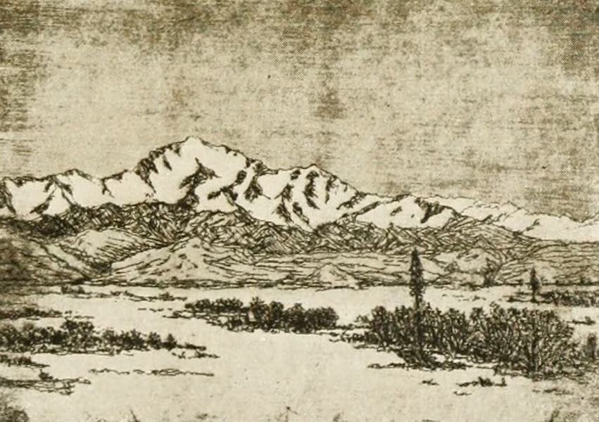 New Mexico, The Land of the Delight Makers - The Snowy Range (1920)