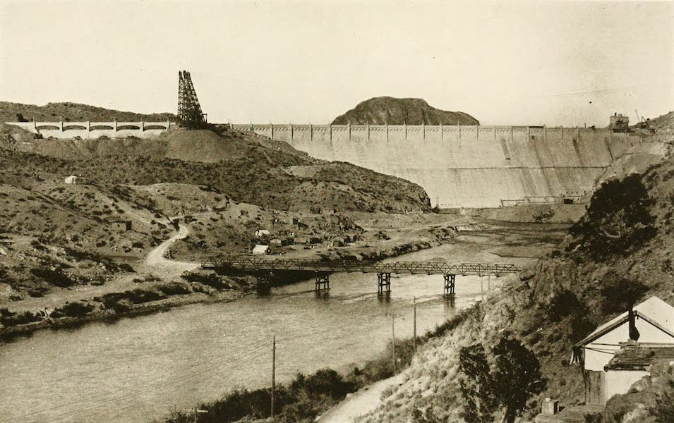 New Mexico, The Land of the Delight Makers - Elephant Butte Dam (1920)