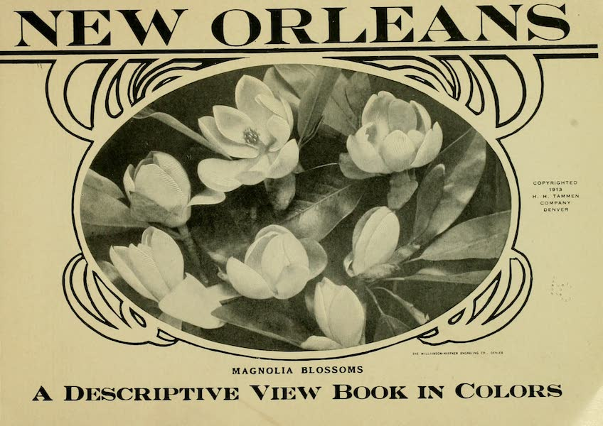 New Orleans, The Gateway to the Panama Canal - Title Page (1913)