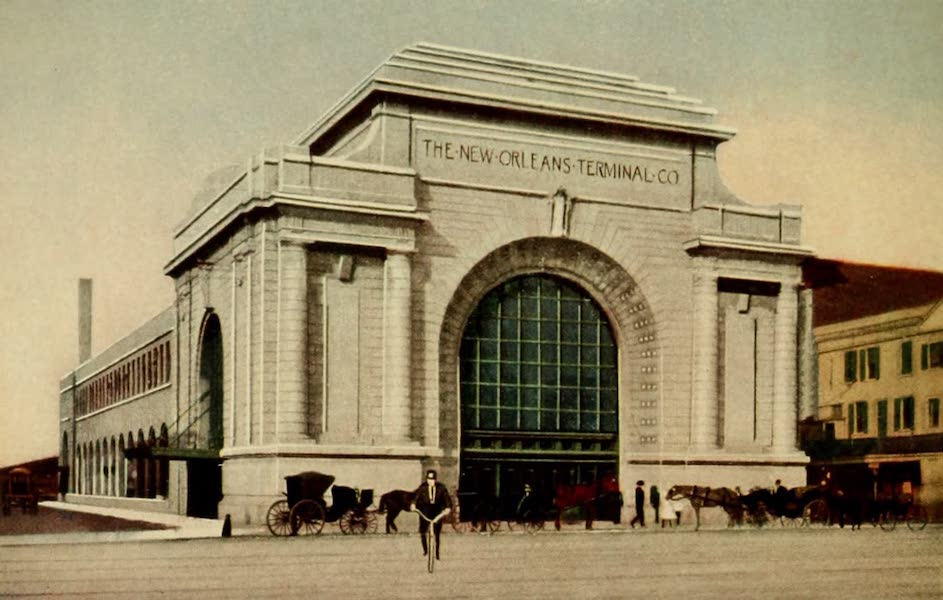New Orleans, The Gateway to the Panama Canal - The New Orleans Terminal Station (1913)