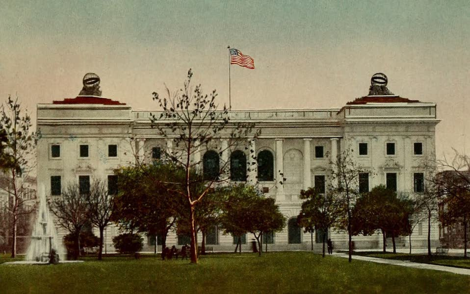 New Orleans, The Gateway to the Panama Canal - The New Orleans White Marble Postoffice (1913)