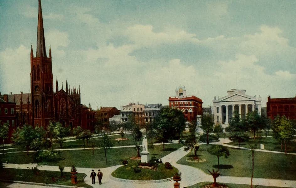 New Orleans, The Gateway to the Panama Canal - The City Hall, facing Lafayette Square (1913)