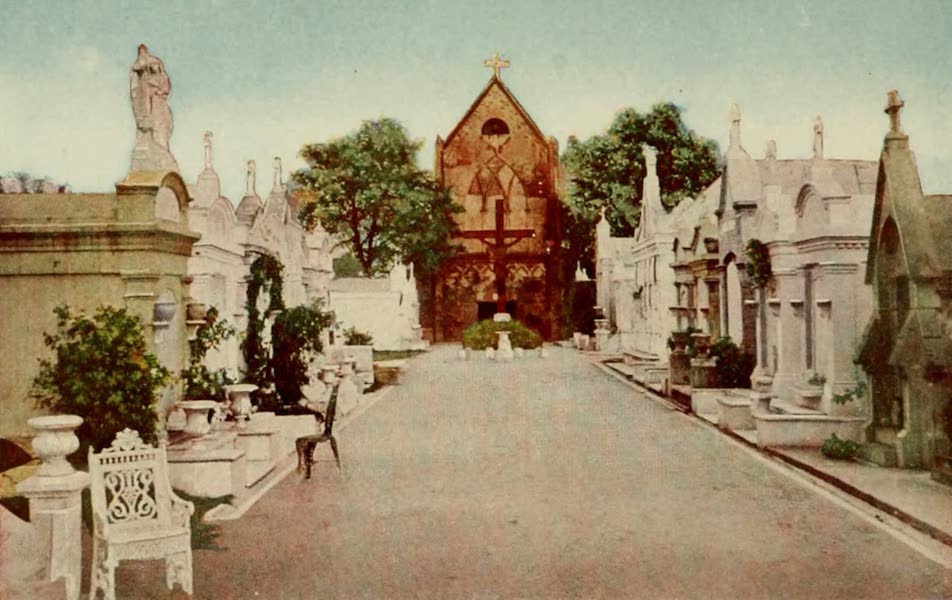 New Orleans, The Gateway to the Panama Canal - St. Roch's Chapel and Cemetery (1913)