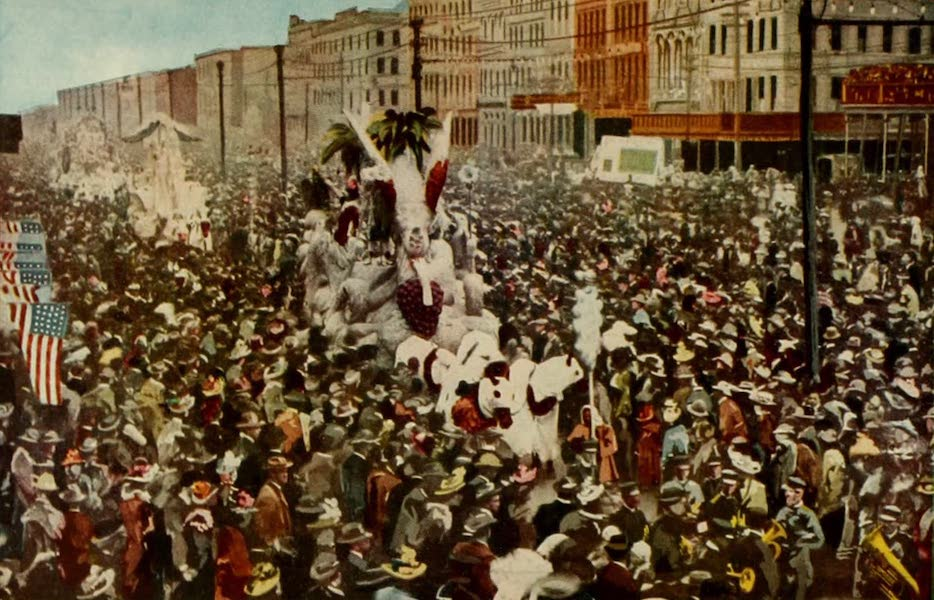 New Orleans, The Gateway to the Panama Canal - New Orleans Carnival (1913)