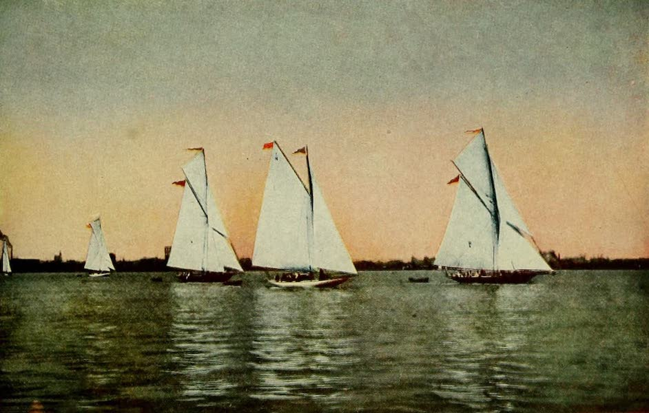 New Orleans, The Gateway to the Panama Canal - Lake Pontchartrain Yachts (1913)