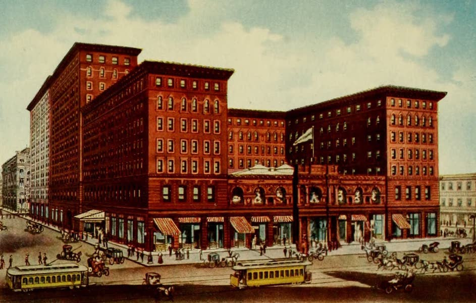 New Orleans, The Gateway to the Panama Canal - The New St. Charles Hotel (1913)