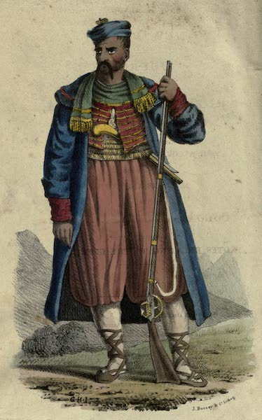 New Russia. Journey from Riga to the Crimea - Arnaut Greek, one of the Cordon or Guard of the South Coast of the Crime (1823)