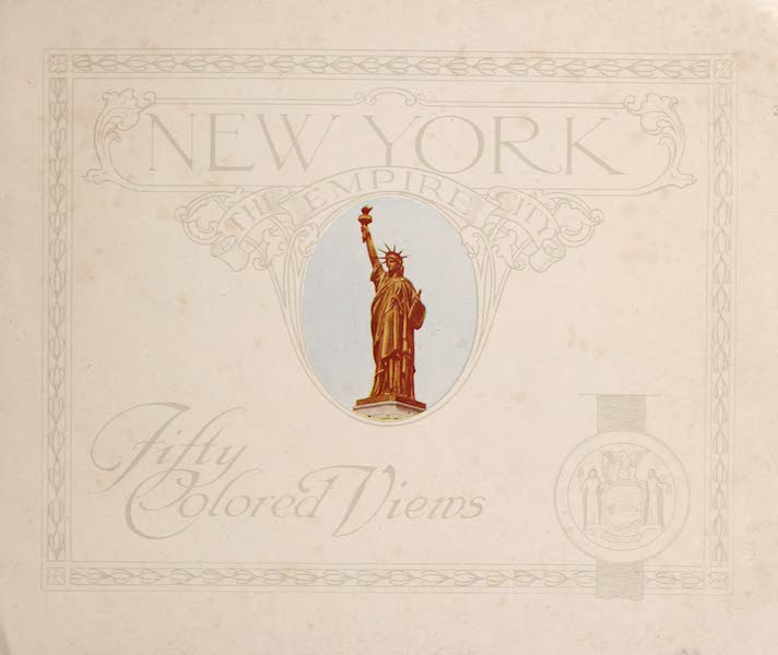 New York, The Empire City - Title Page (1910)
