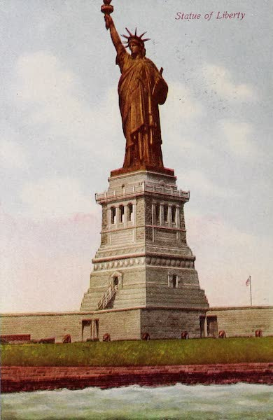 New York, The Empire City - Statue of Liberty (1910)