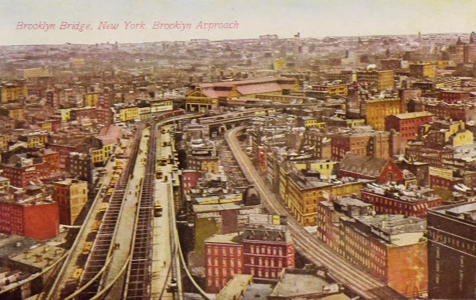 New York, The Empire City - Brooklyn Bridge (1910)