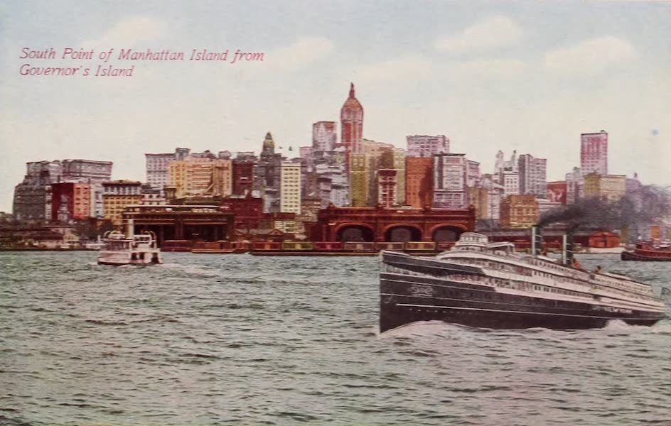 New York, The Empire City - The Battery (1910)