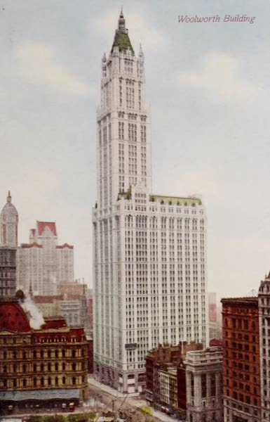 New York, The Empire City - Woolworth Building (1910)