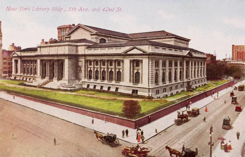 New York, The Empire City - New York Library (1910)