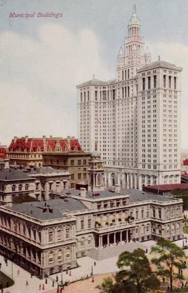 New York, The Empire City - Municipal Building (1910)