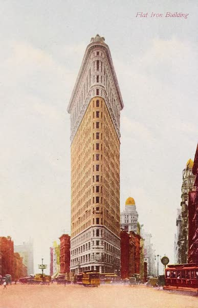 New York, The Empire City - Flatiron Building (1910)