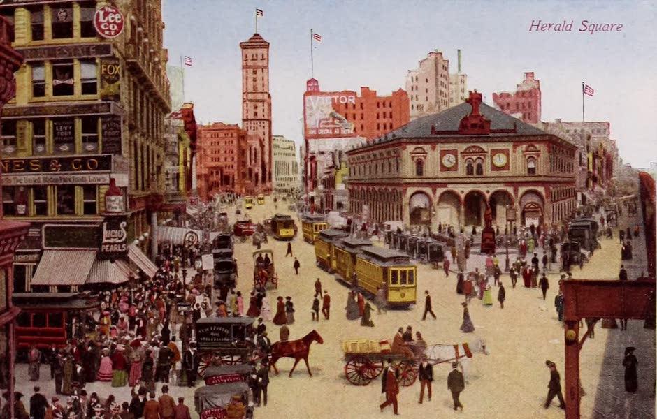 New York, The Empire City - Herald Square (1910)