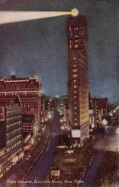 New York, The Empire City - Times Square (1910)