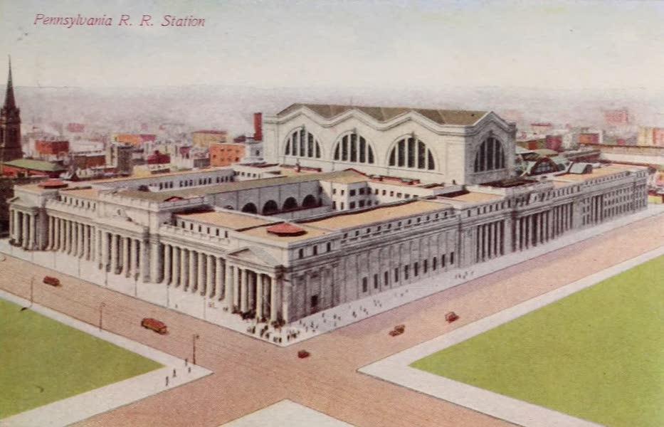 New York, The Empire City - Pennsylvania R. R. Station (1910)