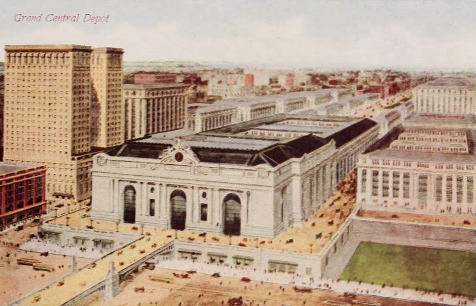 New York, The Empire City - Grand Central Station (1910)