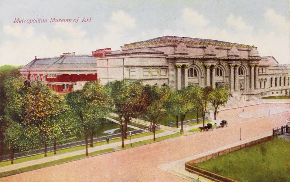New York, The Empire City - Metropolitan Museum of Art (1910)