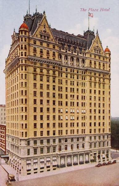 New York, The Empire City - The Plaza Hotel (1910)
