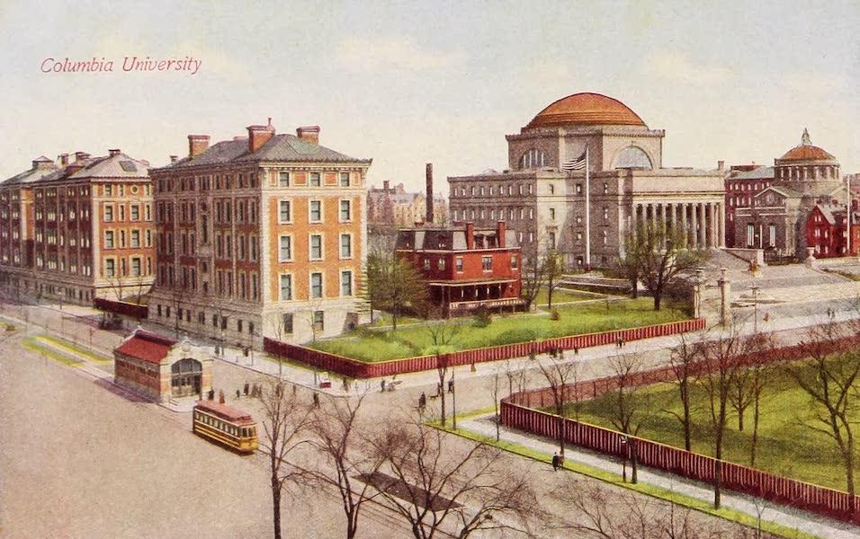 New York, The Empire City - Columbia University (1910)