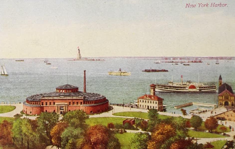 New York, The Empire City - New York Harbor (1910)