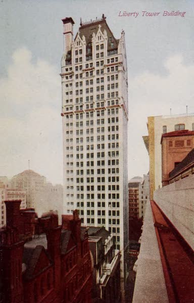 New York, The Empire City - Liberty Tower Building (1910)