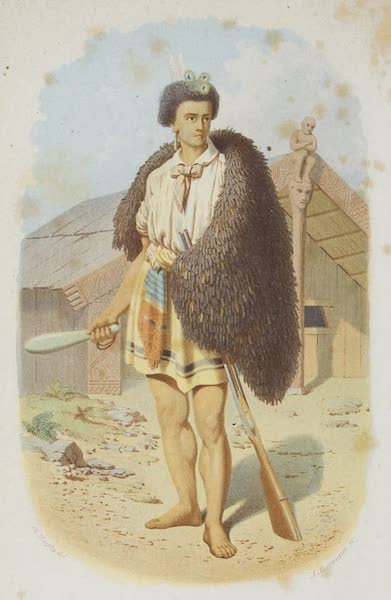 New Zealand : Its Physical Geography, Geology, and Natural History - Ko Paora Matutaera (Paul Marshali) (1867)