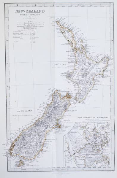 New Zealand : Its Physical Geography, Geology, and Natural History - New Zealand (1867)