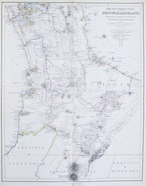 New Zealand : Its Physical Geography, Geology, and Natural History - The Southern Part of the Province of Auckland (1867)