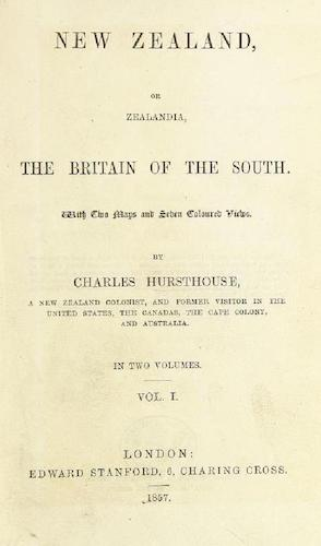 British Library - New Zealand; or Zealandia