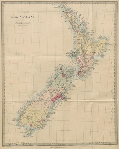 New Zealand; or Zealandia - The Islands of New Zealand (1857)