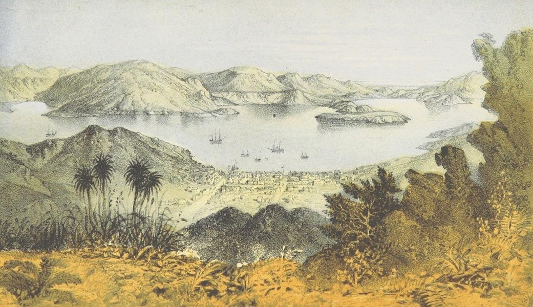 New Zealand; or Zealandia - Port Lyttleton, Canterbury (1857)