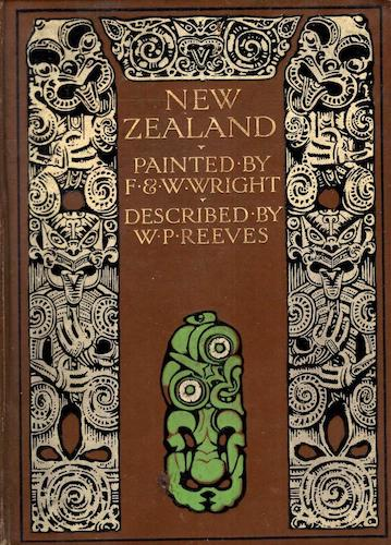 Chromolithography - New Zealand, Painted and Described