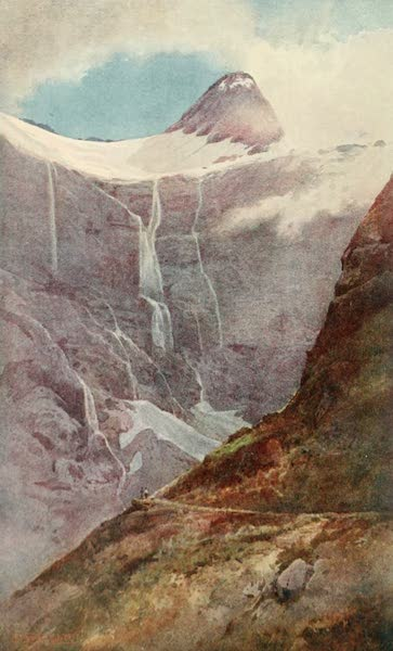 New Zealand, Painted and Described - On M'Kinnon's Pass (1908)