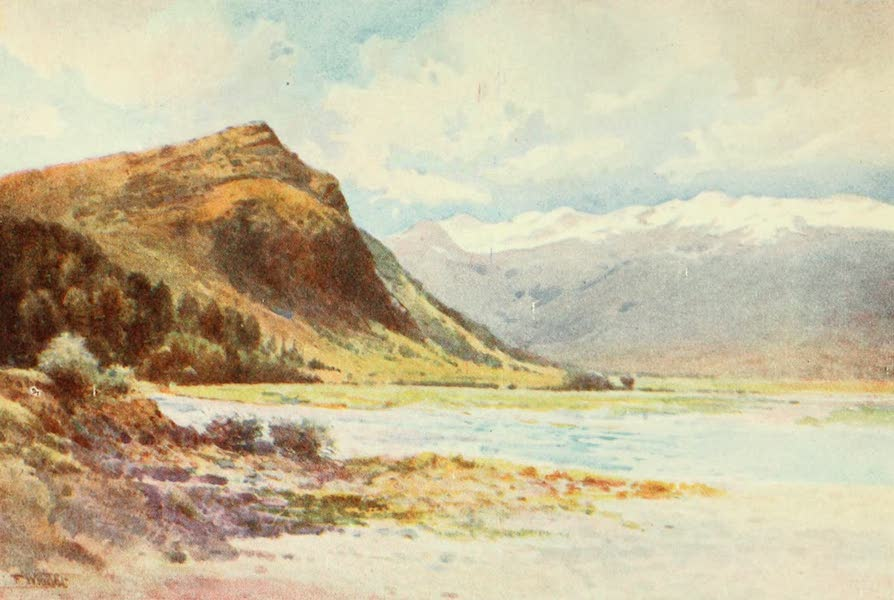 "New Zealand, Painted and Described - ""Paradise,"" Lake Wakatipu (1908)"