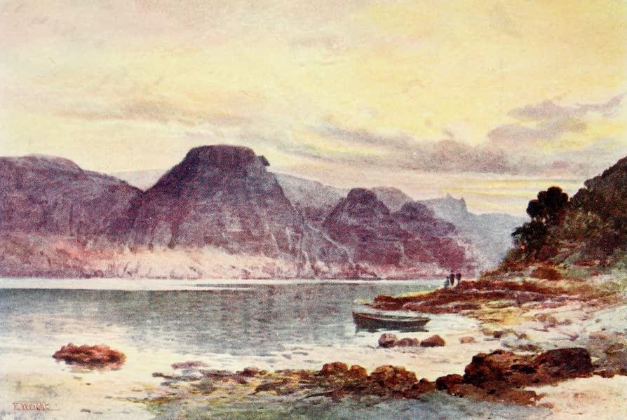 New Zealand, Painted and Described - Okahumoko Bay, Whangaroa (1908)