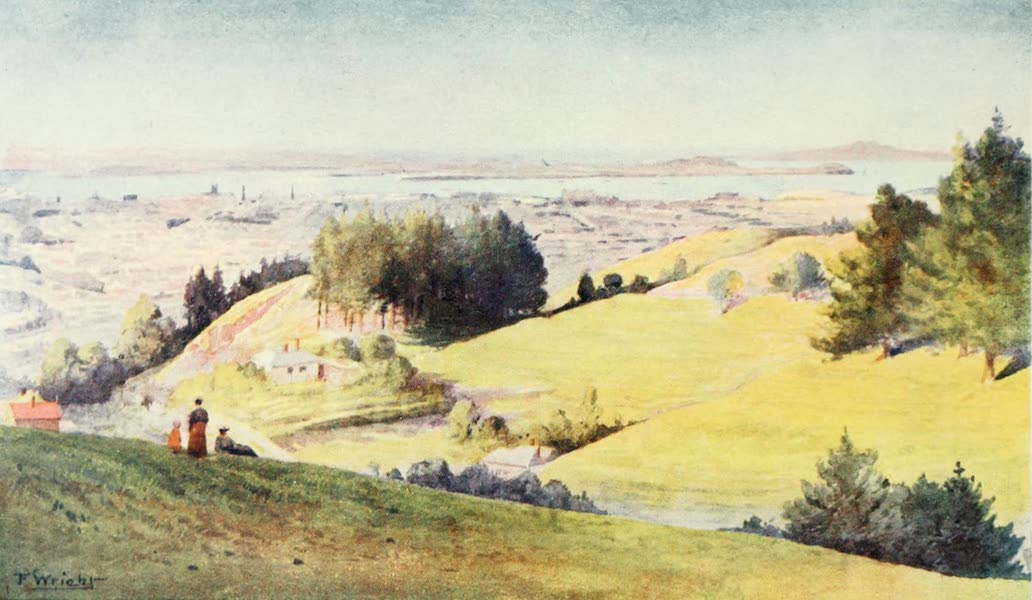 New Zealand, Painted and Described - Auckland (1908)
