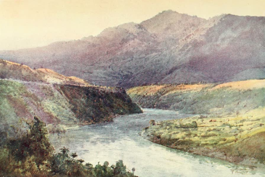New Zealand, Painted and Described - On the Upper Wanganui (1908)