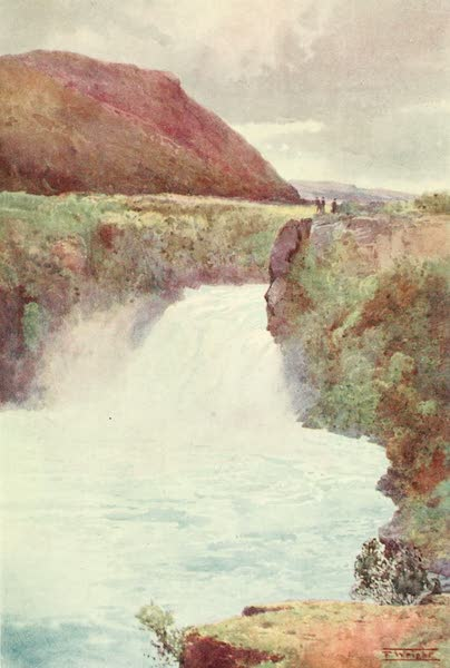 New Zealand, Painted and Described - Huka Falls (1908)